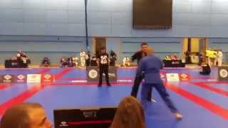 Surrey Open 2015 - Maximilian Mayr vs Peter Gardner BJJ Blue Heavy Gi - Semifinals