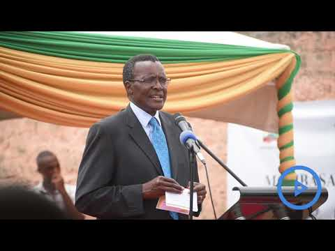 CJ David Maraga on the new four storey Mombasa Law Courts Buildings