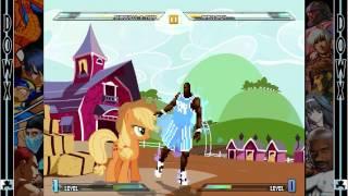 DOWX MUGEN - Shaq Diesel #5 - AppleJack (TylorTheHegehog/VORE)