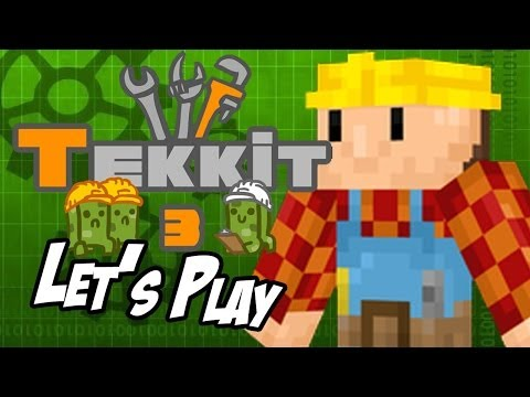 Tekkit with Lunair - Part 11 - Compressor and Energy Links