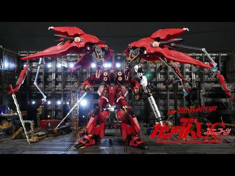 Metal Club MC 1/100 NZ-666 Kshatriya Red Comet Version (Review)