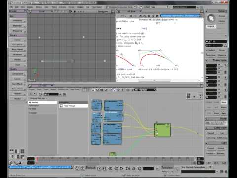 Tutorial - Build Your Own Bézier Curve Interpolation in Softimage ICE