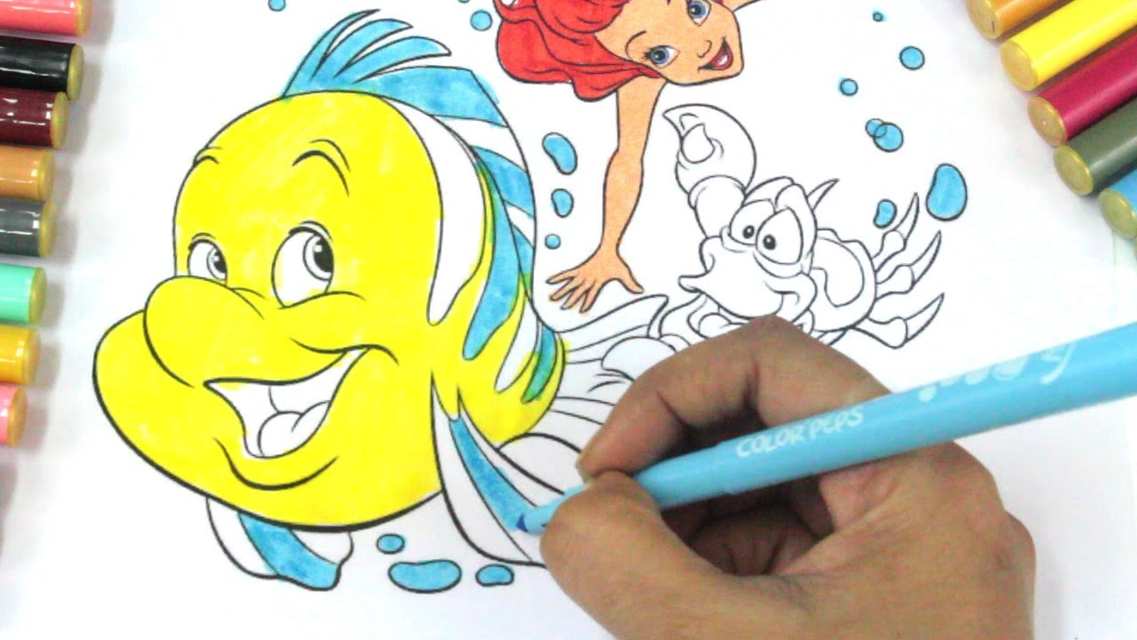 princess ariel coloring book disney princess coloring page for
