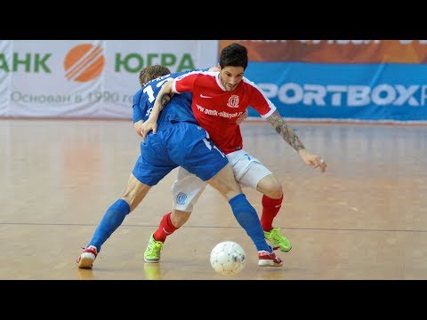 DYNAMO vs SIBIRYAK. Futsal.Russian Superleague. 23/05/2017. GOALS