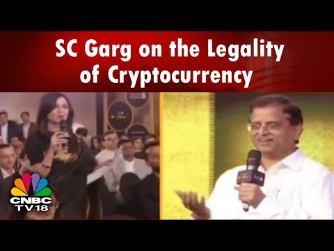 SC Garg on the Legality of Cryptocurrency In India BusinessLeader Awards | CNBC TV18