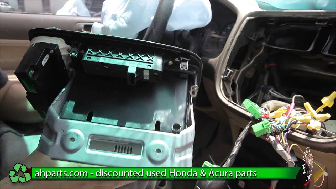 how to replace change a climate control for a 2001 2002 2003 2004 2005 honda civic replace diy [ 1280 x 720 Pixel ]