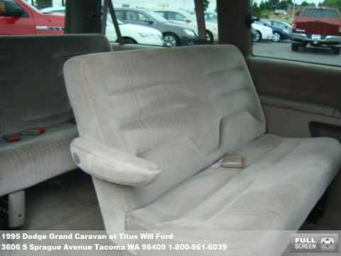 1995 Dodge Grand Caravan 3773 At Titus Will Ford In