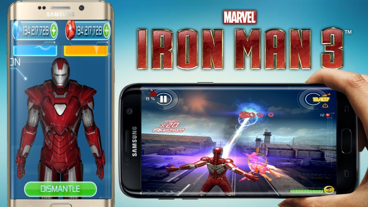 download iron man 3 game mod apk