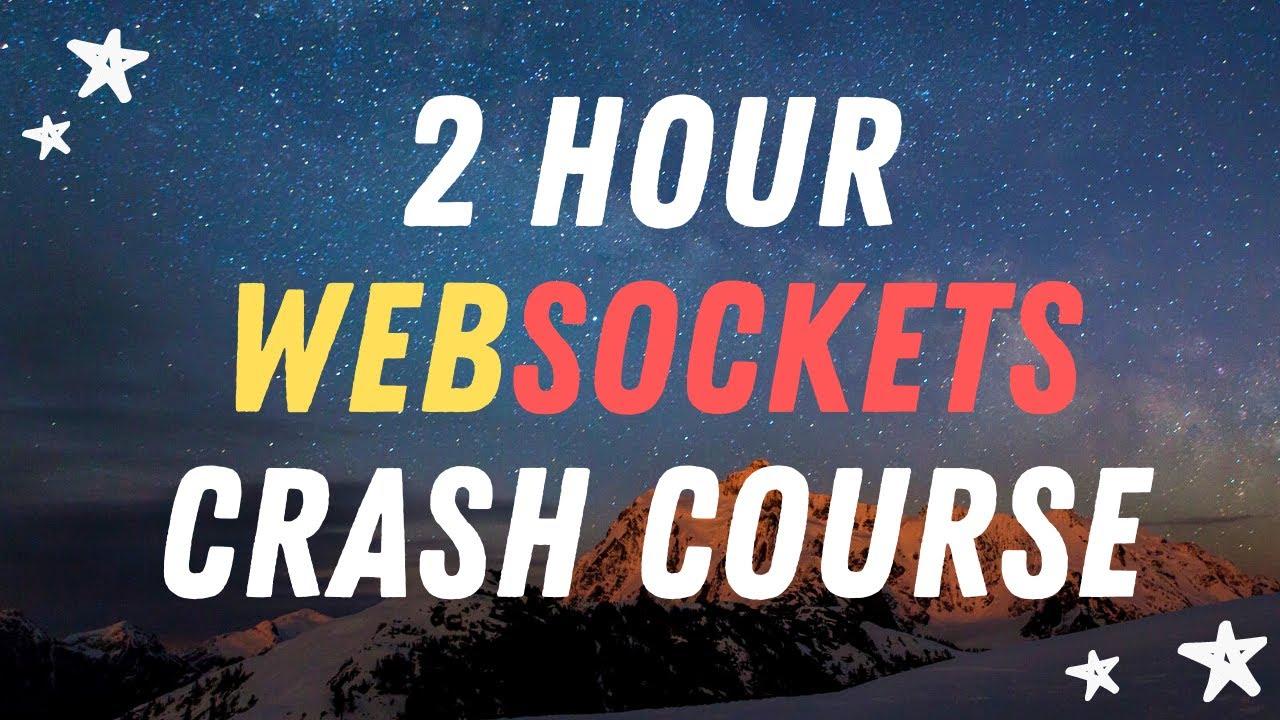Learn WebSockets in 1 video - WebSocket Crash Course