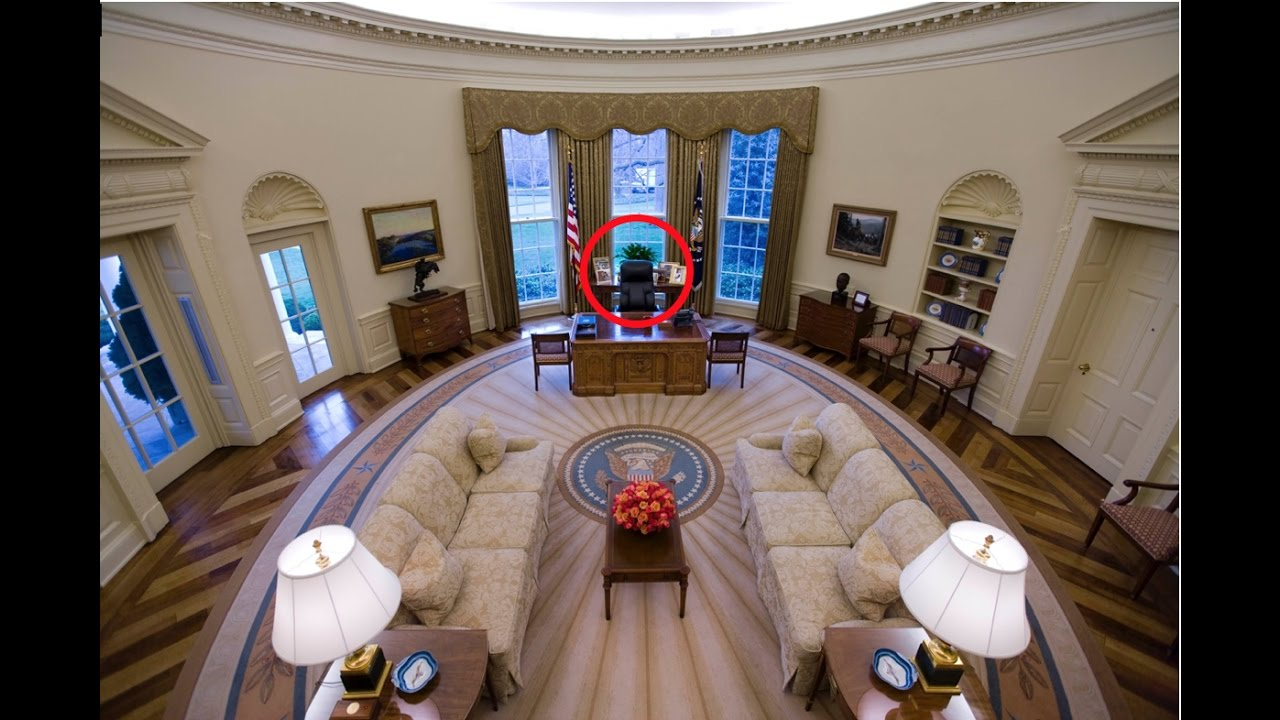 The Secret Of Tramps OVAL OFFICE DESK YouTube
