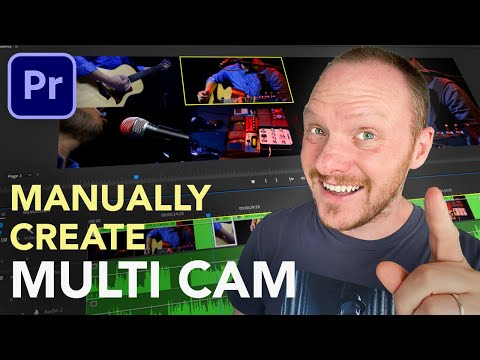 Create Manual Multicam Sequences (Premiere Pro 2020)