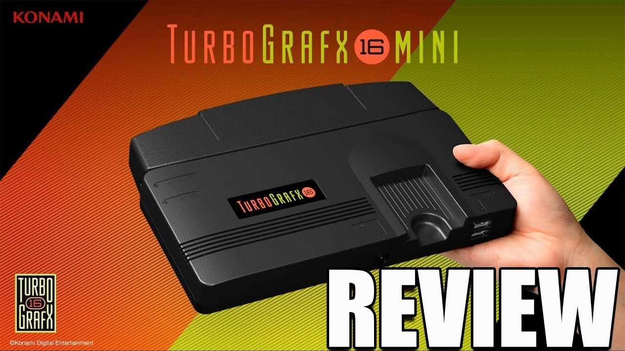 TurboGrafx-16 Mini Review. A Weird 16-Bit Nostalgia Trip – ReviewTechUSA