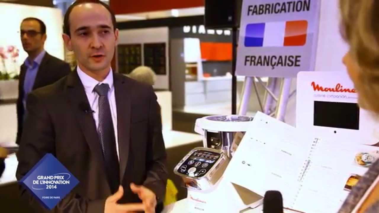moulinex cuisine companion grand prix de l innovation foire de paris 2014