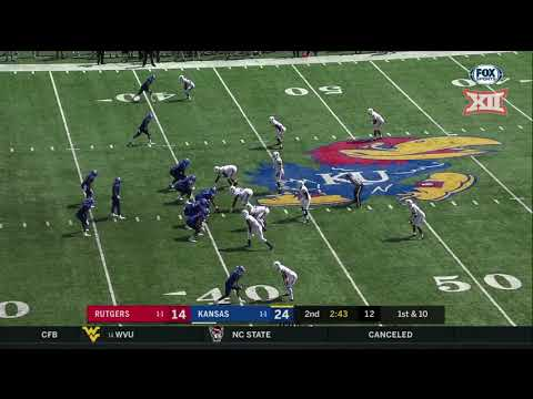 Kansas vs. Rutgers Football Highlights