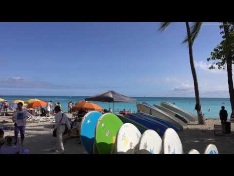 HAWAII, OAHU   HONOLULU 2016 4K