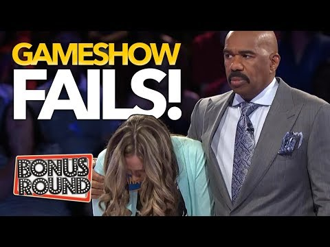 BIGGEST GAMESHOW FAILS EVER! Family Feud, Match Game, Celebrity Name Game! Bonus Round