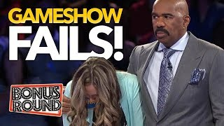 BIGGEST GAMESHOW FAILS EVER! Family Feud, Match Game, Celebrity Name Game!