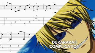 Durarara!! Opening 2 -Complication ROOKiEZ is PUNK'D- Fingerstyle Guitar Tabs