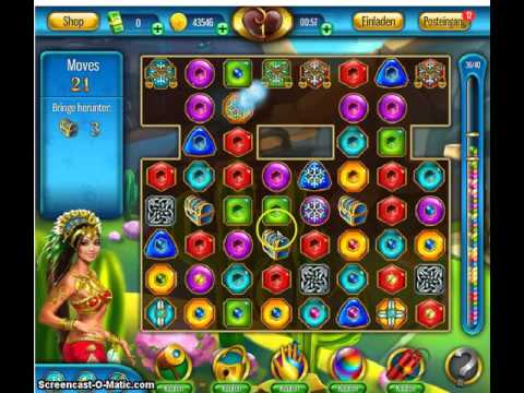 Lost Jewels Level 129  ohne Hilfen #Lost #Jewels #Game #Facebook