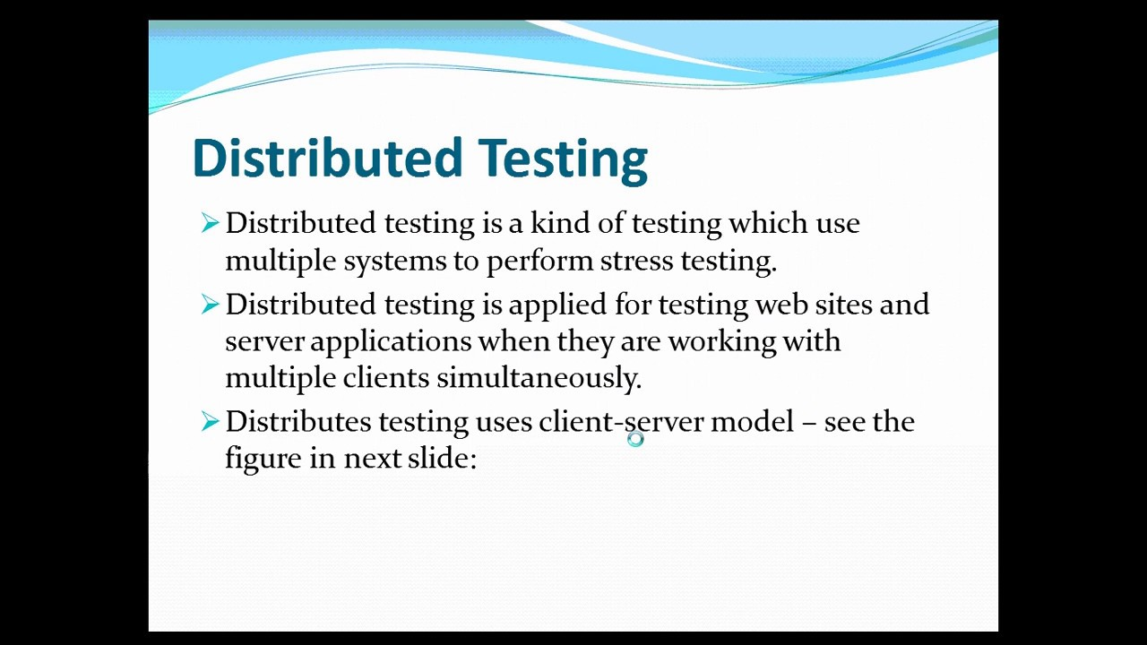 DISTRIBUTED TESTING WITH JMETER