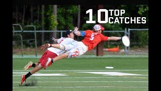 Top 10 Catches From 2017 AUDL Season