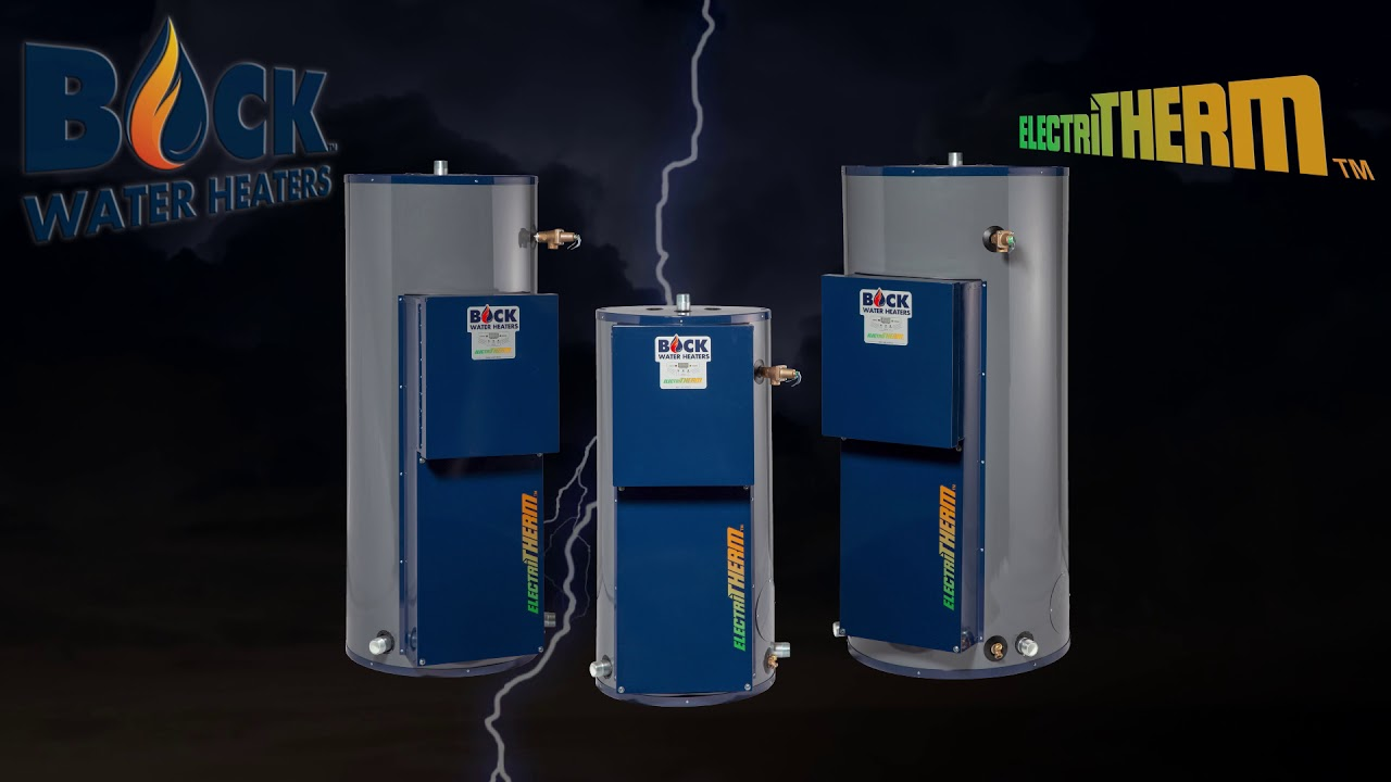Oil-Fired, Gas, and Indirect Water | Bock Water Heaters | Home