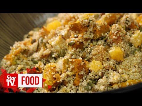 Retro Recipe: Roast pumpkin salad with quinoa