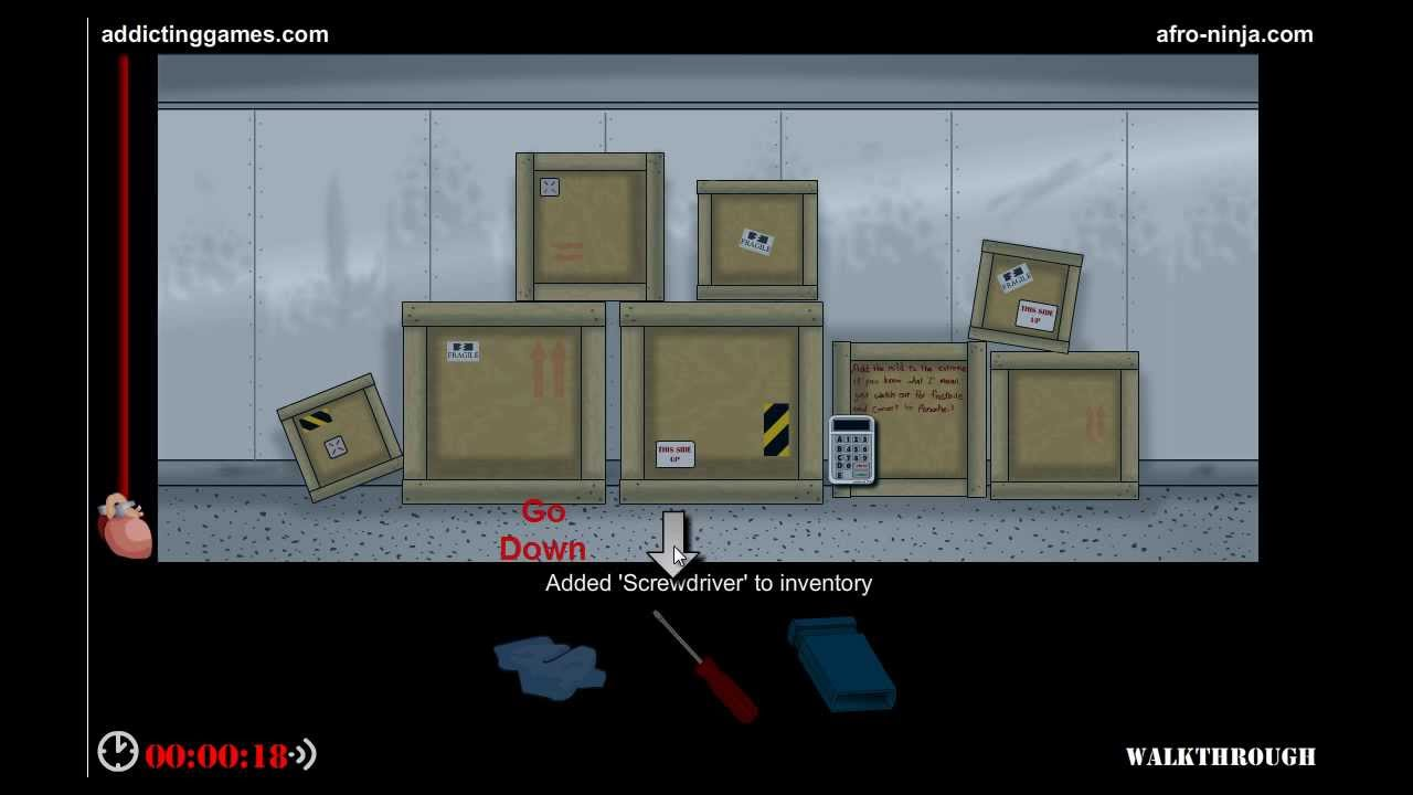 How To Beat Escape The Bathroom On Addicting Games escape 5: the freezer walkthrough - youtube