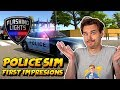Flashing lights early access police gameplay flashing lights police simulator game mp3