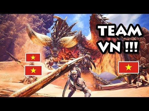 Monster Hunter World 5: Lần đầu chơi với CÁC ANH EM VIỆT NAM !!!