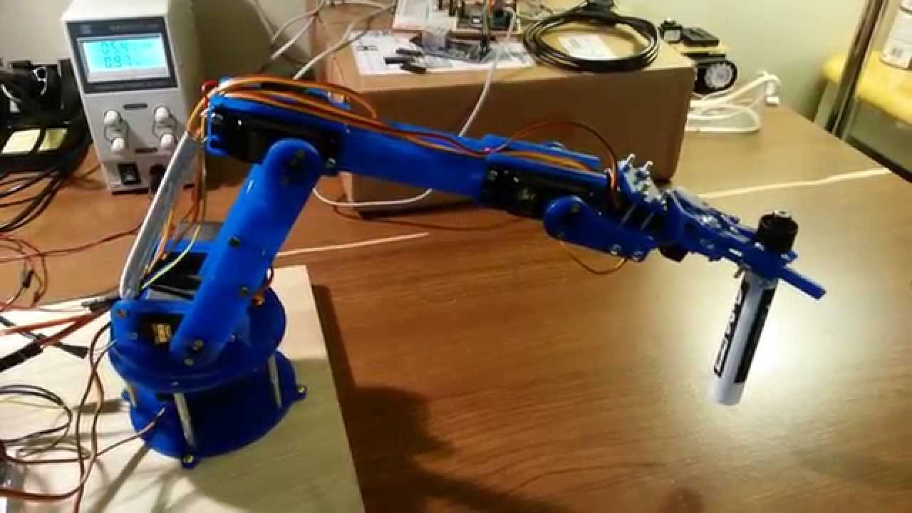Robotic Arm Project Youtube