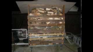 Making Woodlog Store With Reclaimed Timber And Pallets