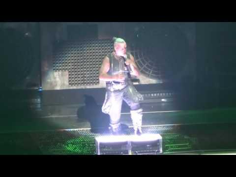 RAMMSTEIN : Du Riechst So Gut :  T-Mobile  Arena Las Vegas sat/jul/1/2017