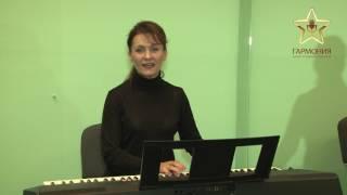 Урок вокала - Развитие грудного регистра.   harmonia.kiev.ua