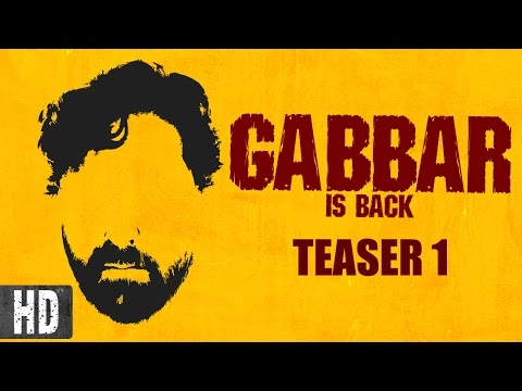 Gabbar is Back | Starring Akshay Kumar, Shruti Haasan | Teaser 1 | In Cinemas Now