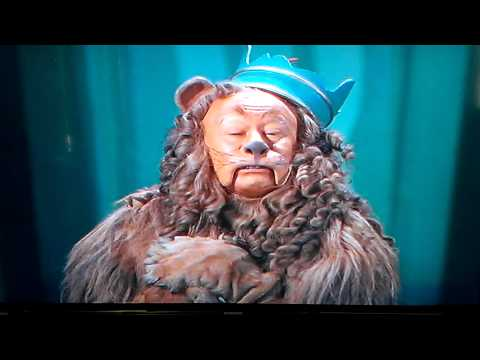 The Cowardly Lion Courage Speech