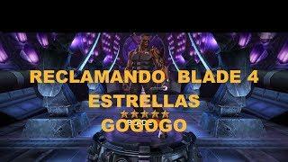 RECLAMANDO BLADE 4 ESTRELLAS EN LA ARENA  GOGOGO  Marvel Contest of Champions