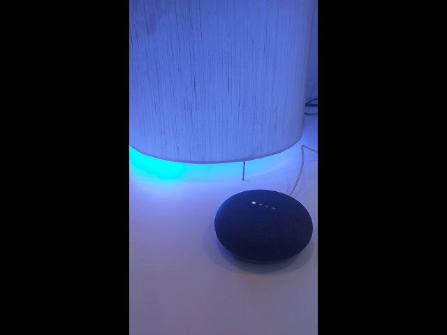 Mansaa Smart Light control with Google Home