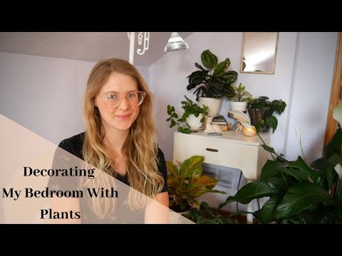 Adding Plants To My Low Light Bedroom Finaly! | Decorating With Plants