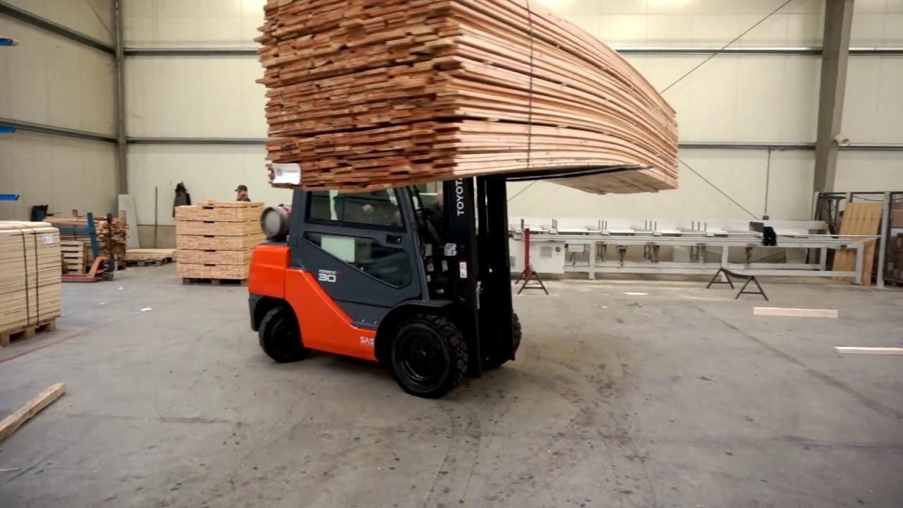Het bedrijf Lapack uit Musselkanaal investeert in palletmachine