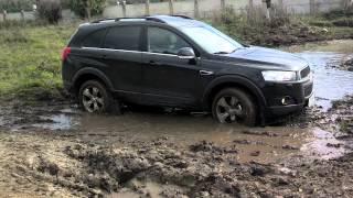Испытание Chevrolet Captiva 2012(Испытание
