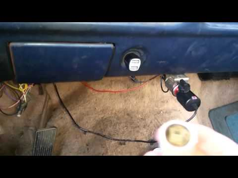 DIY In-Vehicle Project – Permanently install USB charging ports