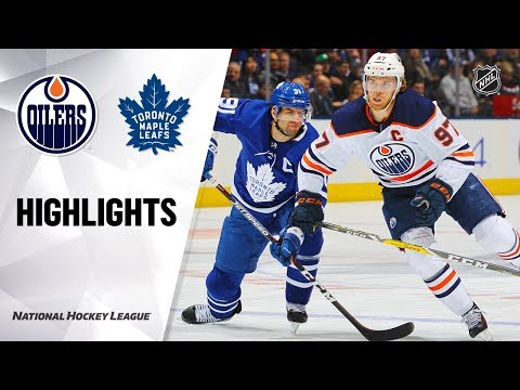 NHL Highlights   Oilers @ Maple Leafs 1/6/20
