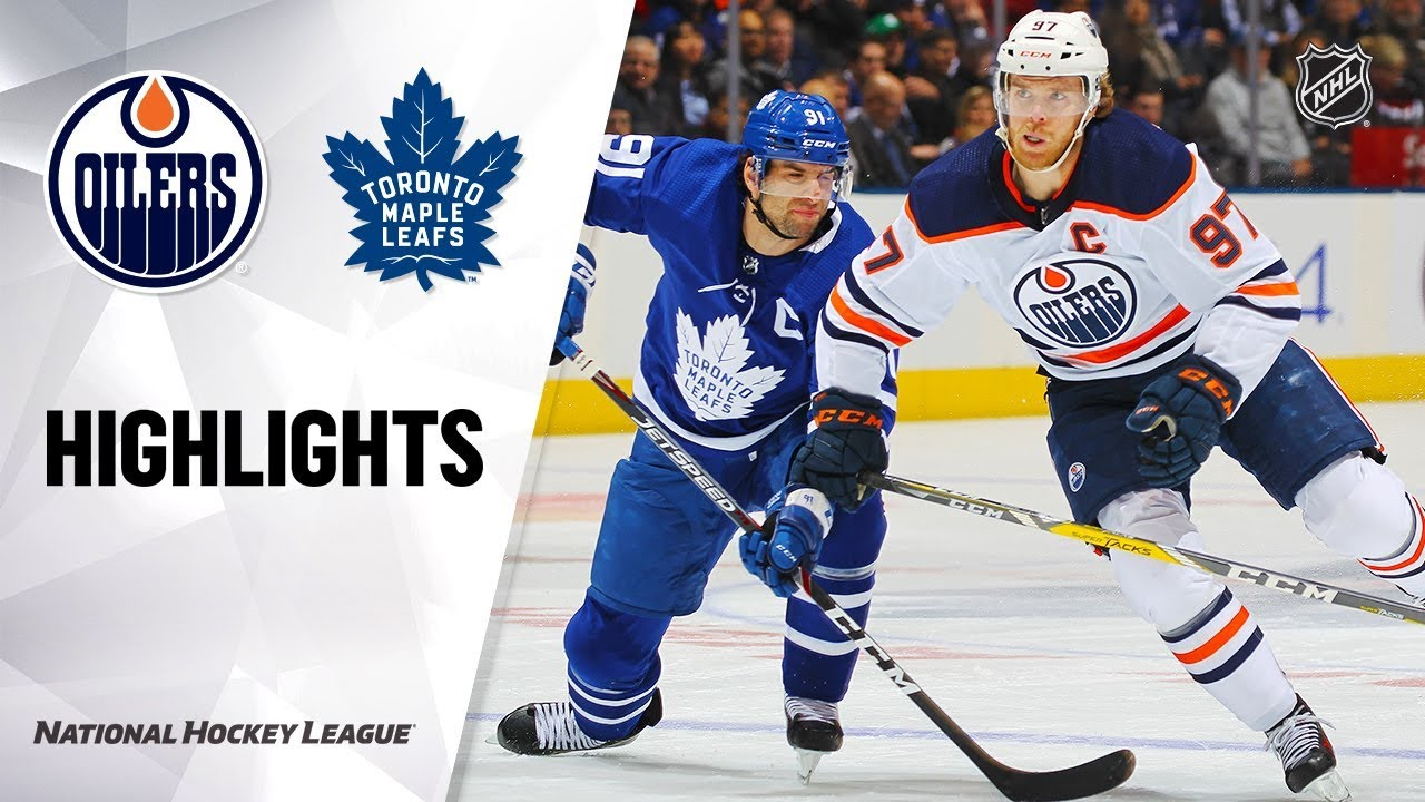 NHL Highlights | Oilers @ Maple Leafs 1/6/20