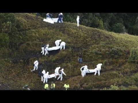 Investigación en marcha en avión de Colombia accidente