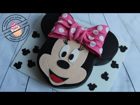 minnie maus torte sahne torte 3d torte ohne fondant anleitung zweist ckige torte funnycat tv. Black Bedroom Furniture Sets. Home Design Ideas