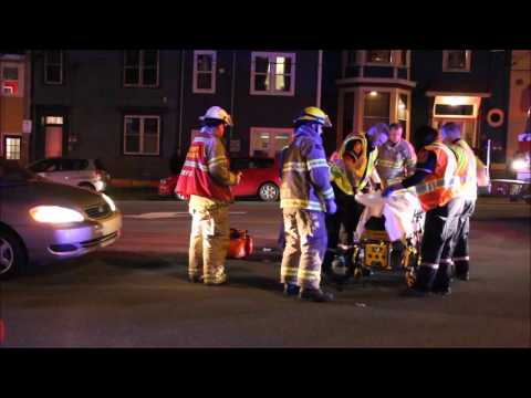Vehicle-Pedestrian accident on Queen's Rd; Monday, May 2, 2016