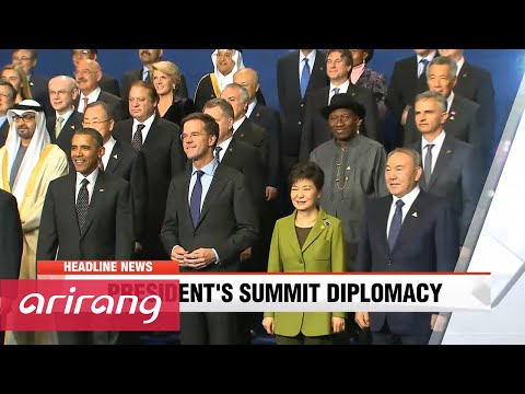 NEWSCENTER 22:00 President Park to meet U.S., China, Japan leaders at nuke summit in Washington