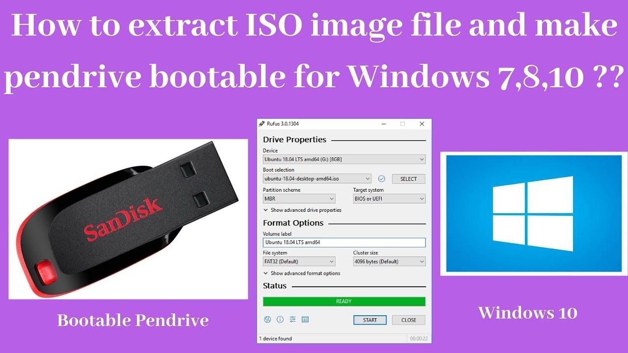 extract iso file windows 7