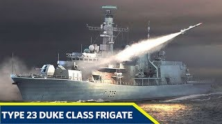 Type 23 Frigate Or Duke Class Frigates Royal Navy Warship